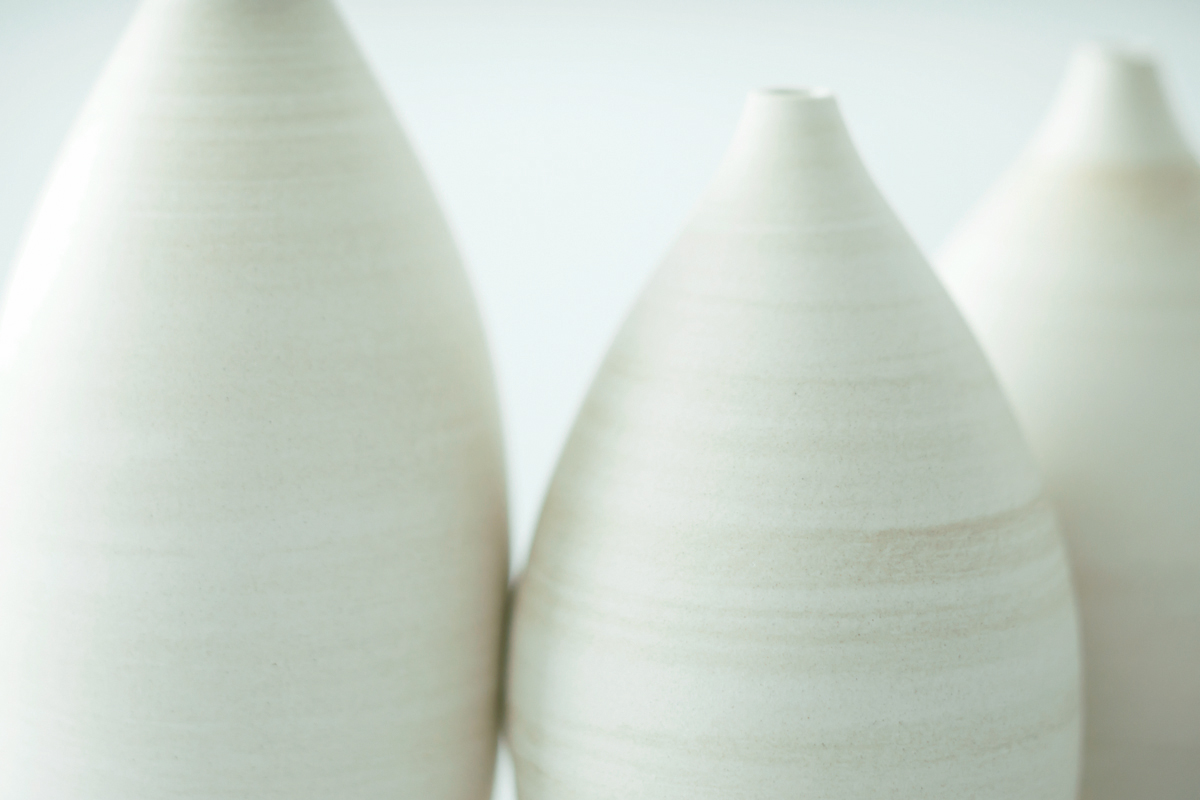 黒泥と素白 / 3RD CERAMICS exhibition