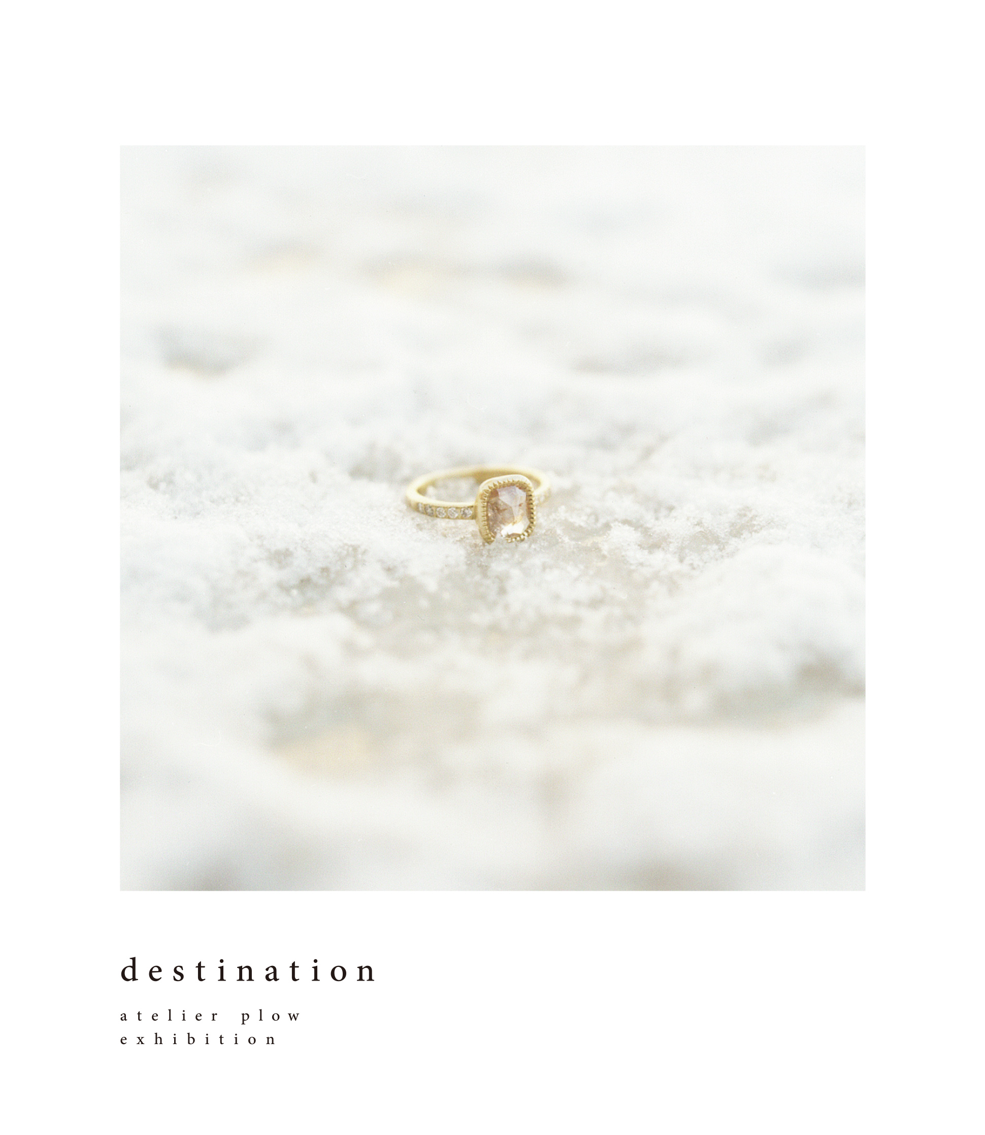 destination / atelier plow exhibition