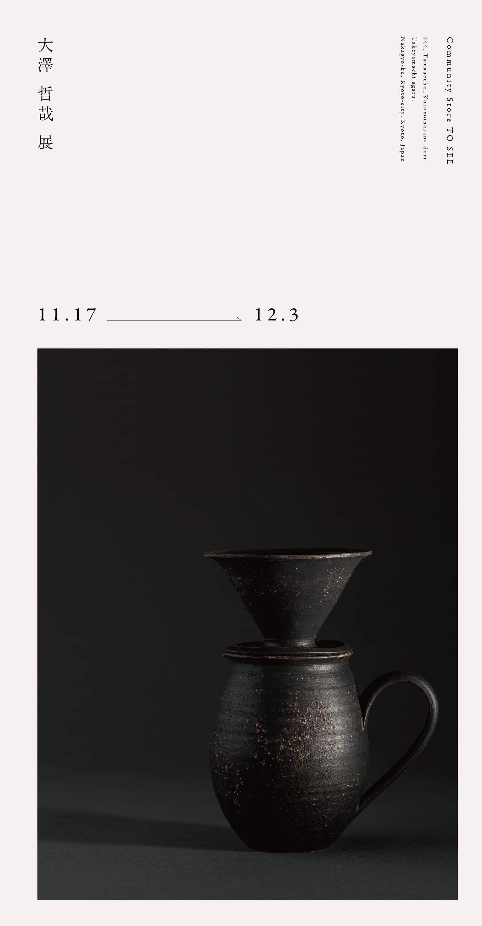 企画展《TO SEE Archive:09》<br>大澤 哲哉 展