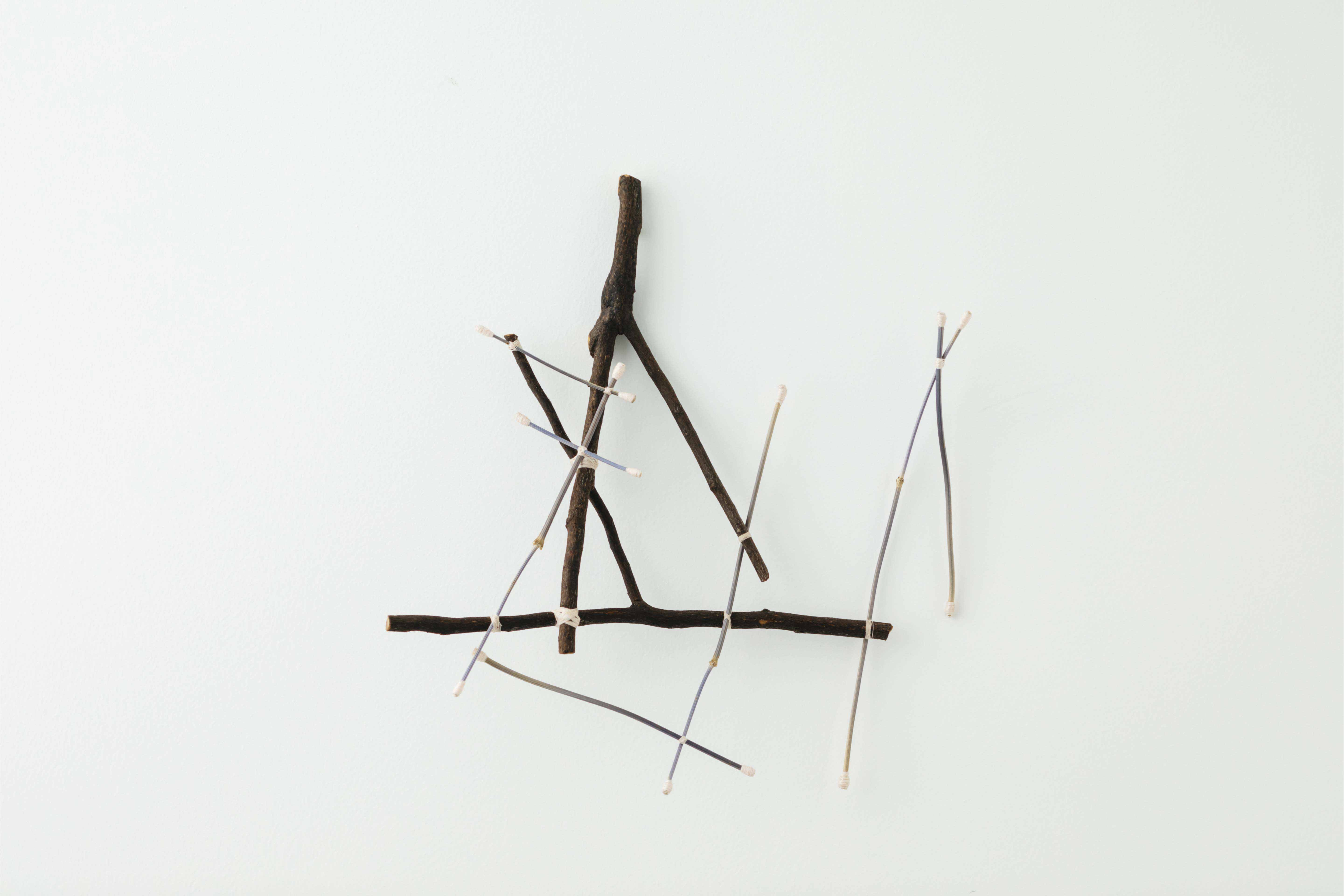 企画展《TO SEE Archive:16》<br>ハナノエン / 野田幸江 展<br>『カケラ、カタマリ、線、重力、時』