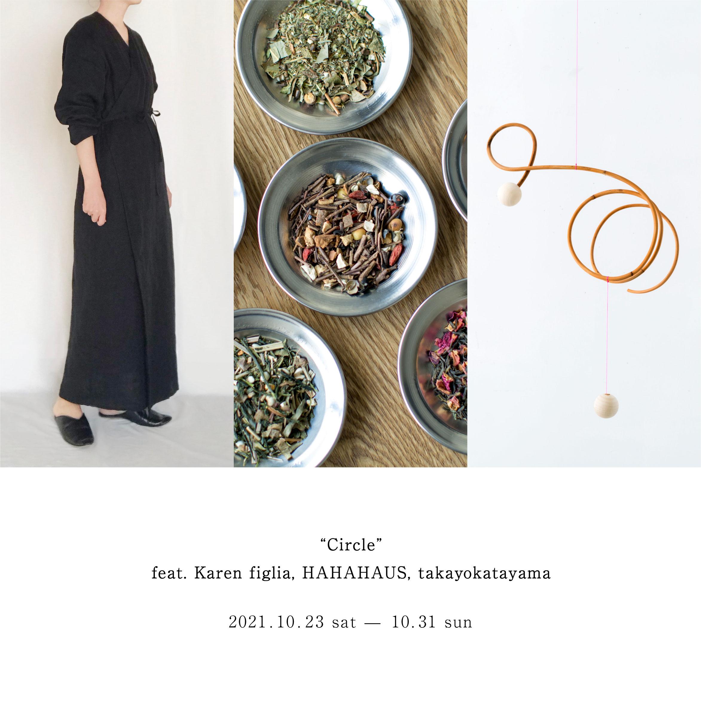 """Circle""<br>feat. Karen figlia, HAHAHAUS, takayokatayama"